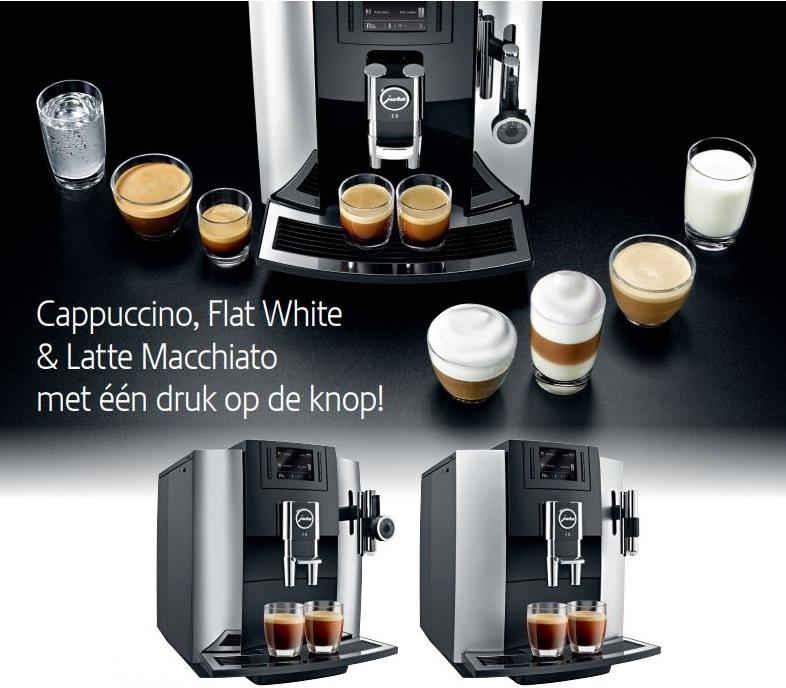 Koffie demonstratie door Jura