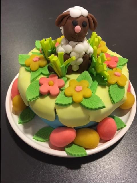 Kids bak workshop | Taartje voor Pasen 28 maart