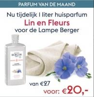 Lin en Fleurs 1L Maandactie Lampe