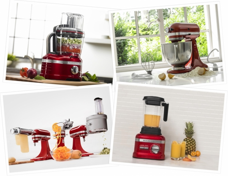 Kitchen Aid Mixer of foodprocessor?