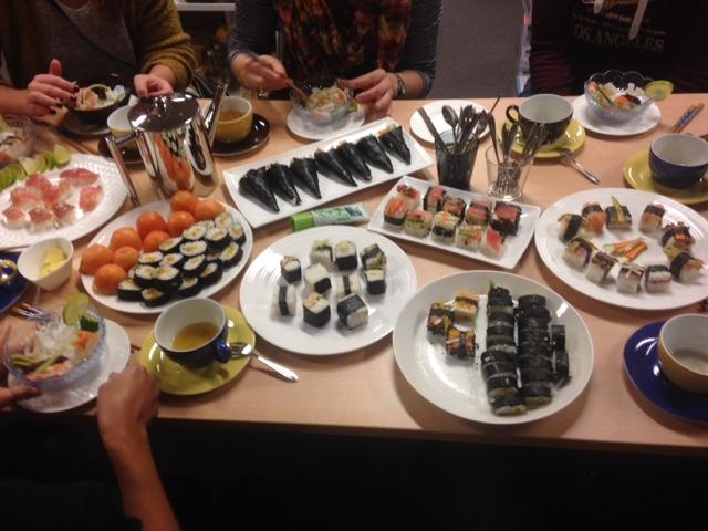 Sushi ochtendworkshop door Mimi