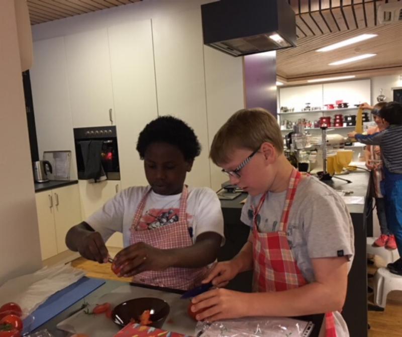 Kookworkshop zomer voor kids vanaf 8 jaar