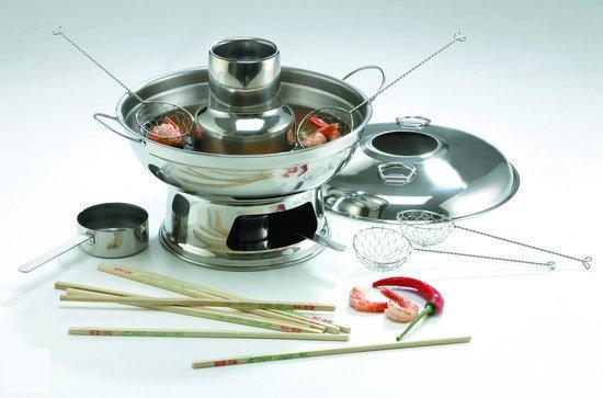 Visfondue of Chinees fondue