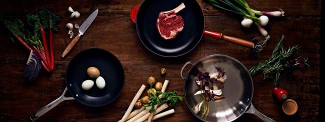 Waar bak ik mijn vlees, vis of aardappels in?